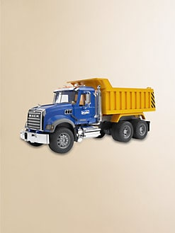 Bruder Toys - Mack Granite Dump Truck