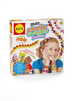 Alex Toys - M&M's Candy Wrapper Jewelry