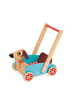 Janod - Crazy Doggy Wood Cart