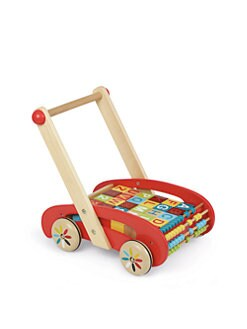 Janod - ABC Blocks Walking Trolley