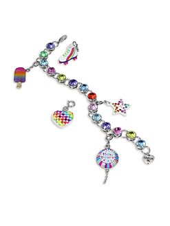 CHARM IT! - Girl's Six-Piece Birthday Bracelet & Charms Gift Set