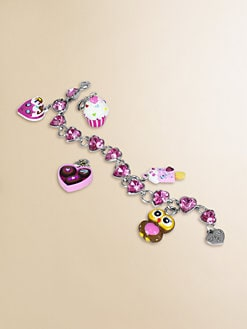 CHARM IT! - Girl's Six-Piece Sweetheart Bracelet & Charms Gift Set