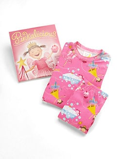 Books To Bed - Toddler's & Little Girl's Pinkalicious PJ & Book Set