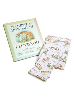 Books To Bed - Infant's Three-Piece Guess How Much I Love You PJ & Book Set