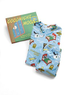 Books To Bed - Toddler's & Little Kid's Goodnight Moon PJ & Book Set