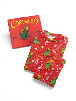 Books To Bed - Toddler's & Little Kid's Corduroy PJ & Book Set