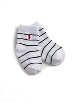 Ralph Lauren - Infant's St. James Striped Crew Socks