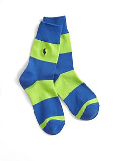 Ralph Lauren - Boy's Rugby Crew Socks