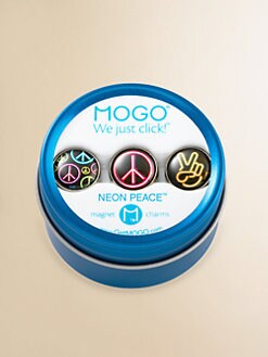 MOGO - Neon Peace Charm Collection