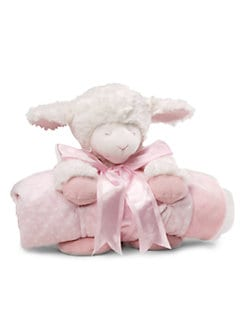 Gund - Winky Plush Lamb & Blanket Two-Piece Set