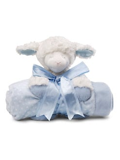 Gund - Winky Plush Lamb & Blanket Set