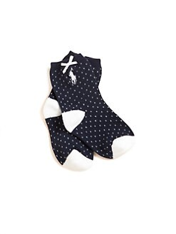 Ralph Lauren - Infant's Pindot Socks