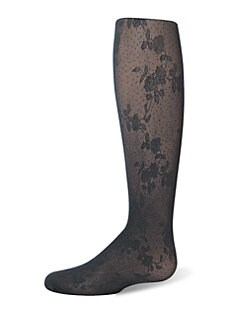 Ralph Lauren - Toddler's & Little Girl's Floral Lace Tights