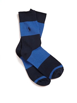 Ralph Lauren - Boy's Striped Crew Socks