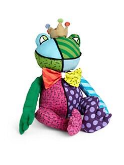 Britto - Patchwork Plush Frog
