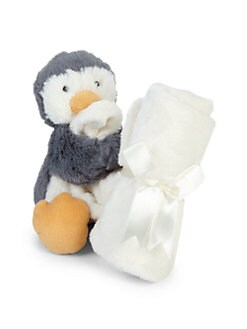 Jelly Cat - Bashful Penguin Plush Toy & Soother Blanket