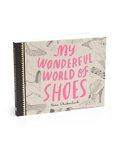 Chronicle Books - My Wonderful World Of Shoes Book
