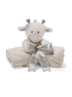 Gund - Golly Plush Cow & Blanket Two-Piece Gift Set