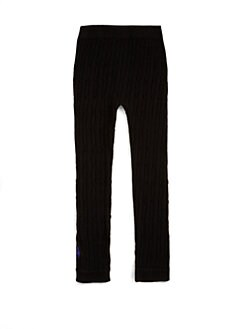 Ralph Lauren - Toddler's & Little Girl's Seamless Cable-Knit Leggings