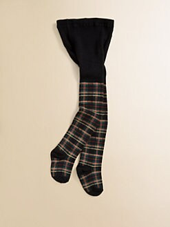 Ralph Lauren - Toddler's & Little Girl's Tartan Sparkle Tights