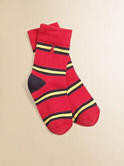 Ralph Lauren - Toddler's & Little Boy's Striped Slack Socks