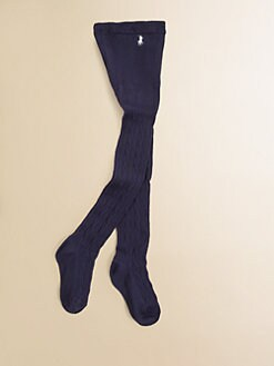 Ralph Lauren - Toddler's & Girl's Cable-Knit Sweater Tights