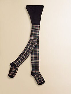 Ralph Lauren - Toddler's & Girl's Sparkle Tartan Tights