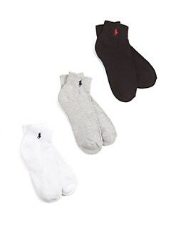 Ralph Lauren - Boy's Sport Socks/6-Pack