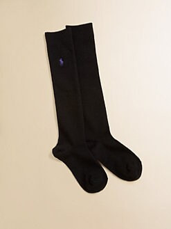Ralph Lauren - Girl's Superwash Merino Wool Over-The-Knee Socks