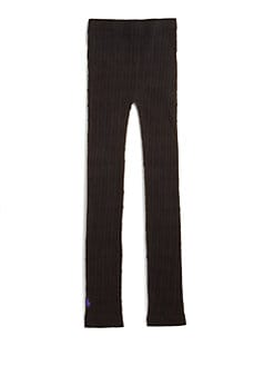 Ralph Lauren - Girl's Seamless Cable-Knit Leggings