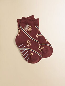 Ralph Lauren - Infant's Skulls & Stripes Socks