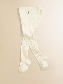 Ralph Lauren - Infant's Cable-Knit Sweater Tights