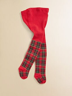 Ralph Lauren - Infant's Tartan Sparkle Tights