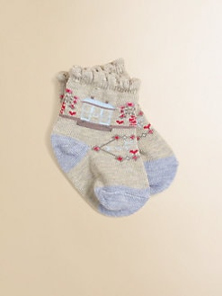 Ralph Lauren - Infant's (0-6mo) Scenic Crew Socks