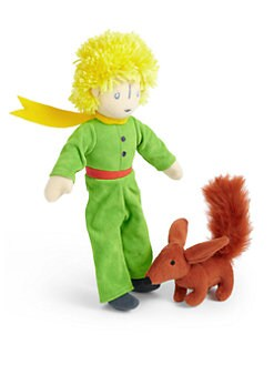 Yottoy - Little Prince & Fox Plush Toy