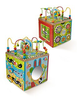 Alex Toys - Maxville Wooden Activity Cube