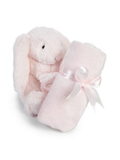 Jelly Cat - Bashful Bunny Plush Toy & Soother Blanket