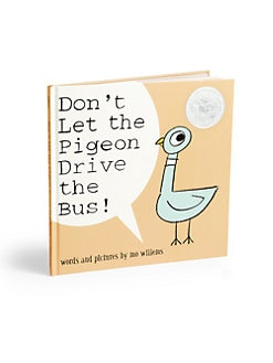 Yottoy - Don't Let The Pigeon Drive The Bus Book