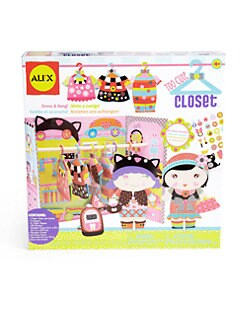 Alex Toys - Too Cute Paper Doll Closet