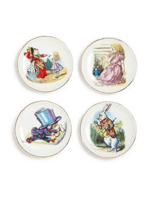 Kid's Alice In Wonderland Medium 19-Piece Tea Party Set