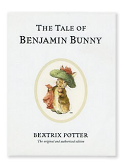 Reutter Porcelain - The Tale of Benjamin Bunny Story Book
