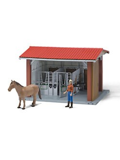 Bruder Toys - Bworld Horse Stable Set