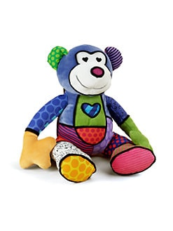 Britto - Matisse Plush Monkey