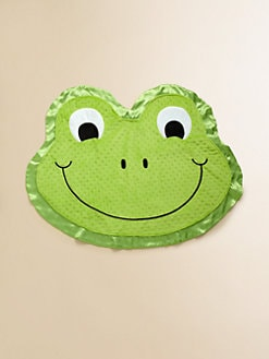 Happy Blankie - Stomp the Happy Frog Medium Blankie