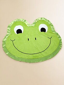 Happy Blankie - Stomp the Happy Frog Large Blankie
