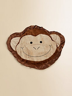 Happy Blankie - Flip the Happy Monkey Medium Blankie