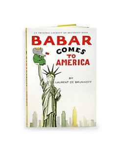 Abrams Books - Babar Comes to America