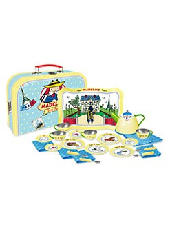 Yottoy - Madeline 24-Piece Deluxe Tin Tea & Suitcase Set