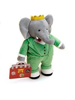 Yottoy - Kid's Babar Anniversary Plush
