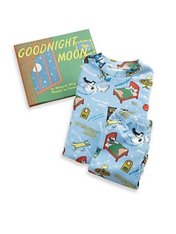 Books To Bed - Infant's Three-Piece Goodnight Moon PJ & Book Set